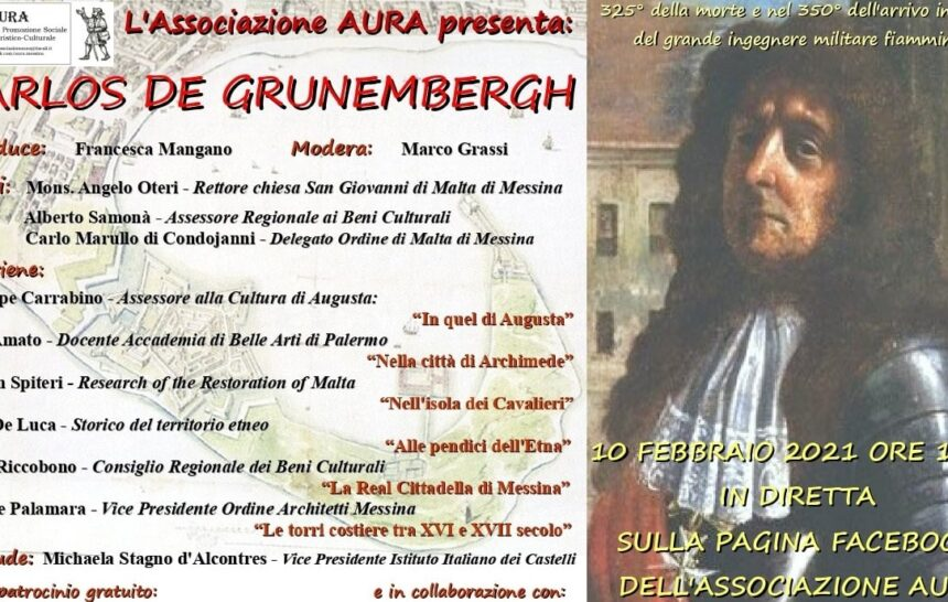 CARLOS DE GRUNEMBERGH, L'INGEGNERE MILITARE CHE SCELSE MESSINA COME SECONDA CASA