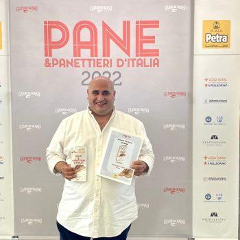 FRANCESCO ARENA NEI MIGLIORI PANIFICATORI D'ITALIA, IL GAMBERO ROSSO GLI ASSEGNA 3 PANI