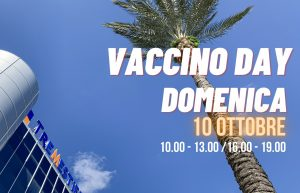 VACCINO DAY: TUTTO PRONTO DOMANI AL CENTRO COMMERCIALE TREMESTIERI